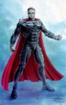 The Superman outfit from Tim Burton's proposed 'Superman Lives' flick.